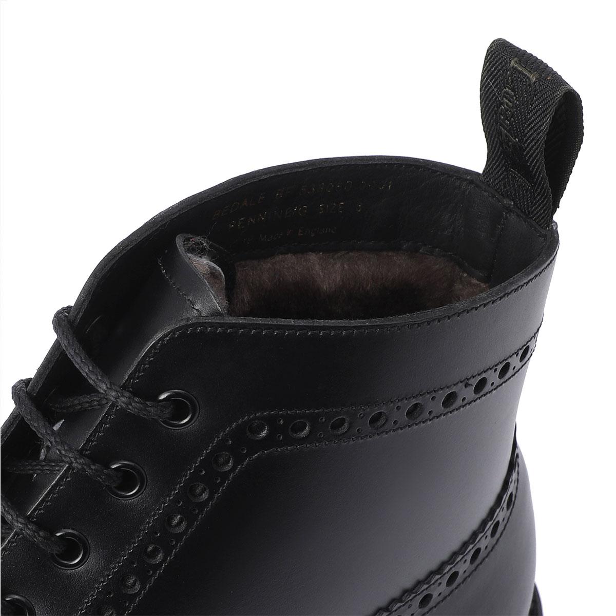 loake bedale black