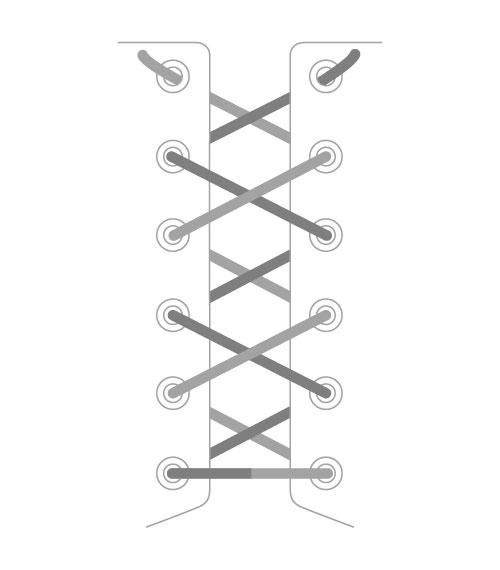 Перекрёстная шнуровка