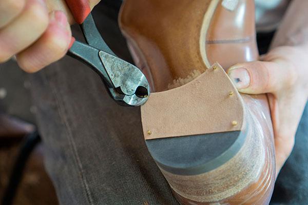 Сборка каблука